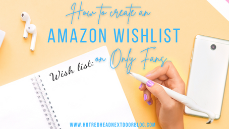 How to create and share your Amazon wishlist on OnlyFans