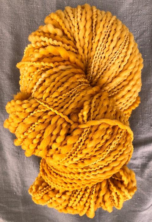 Mustard—Merino Slub 12 ply 100g