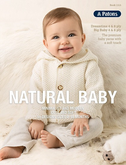 Natural Baby - Patons 1315 Pattern Book