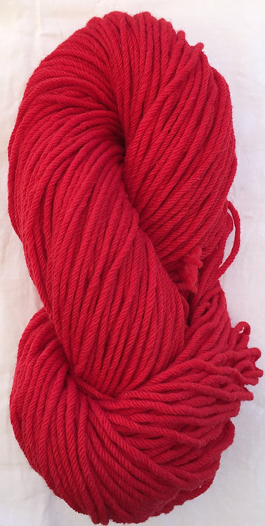 New Red—Rug Yarn 16 ply