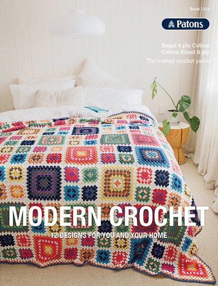 Patons Modern Crochet Pattern Book TB0001 - 1316