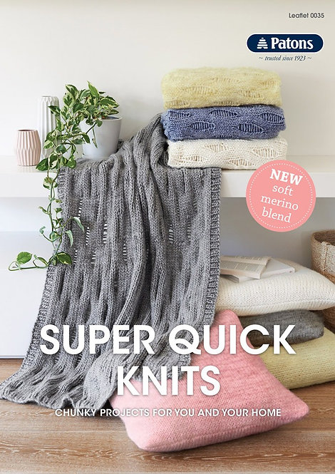 Super Quick Knits 0035 by Patons