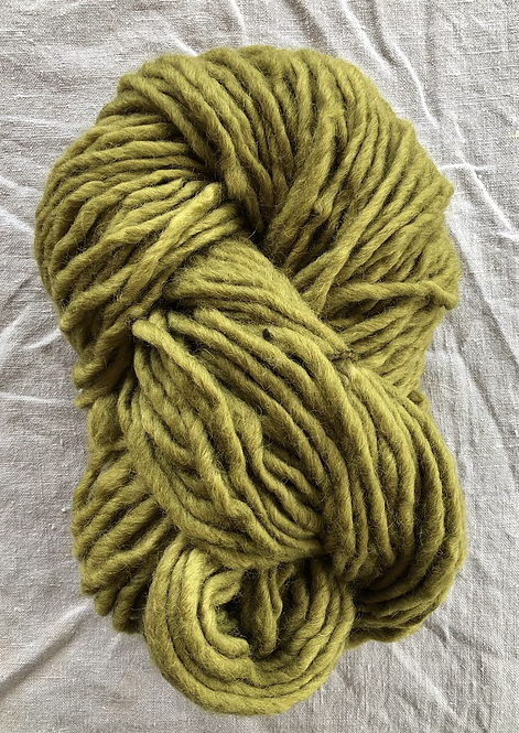 Olive Roving—Mollydale Yarns