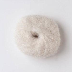 Cream—Baby Suri Silk