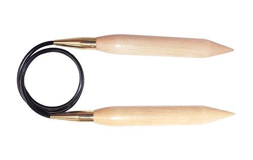 Jumbo brich fixed circular needle