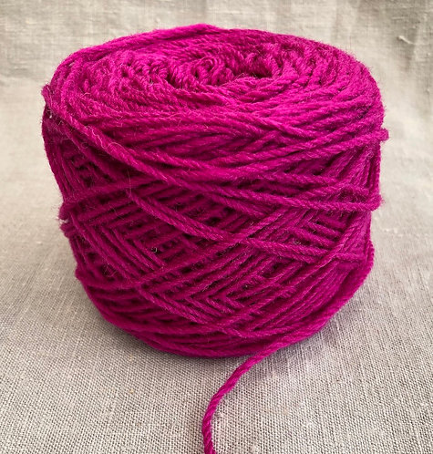 Magenta Craft Wool 8 ply—Mollydale Yarns