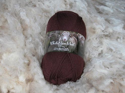 ironstone 8 ply merino white gum wool