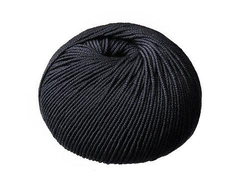 Black Superfine Merino Cleckheaton 8 ply Australian Merino Wool