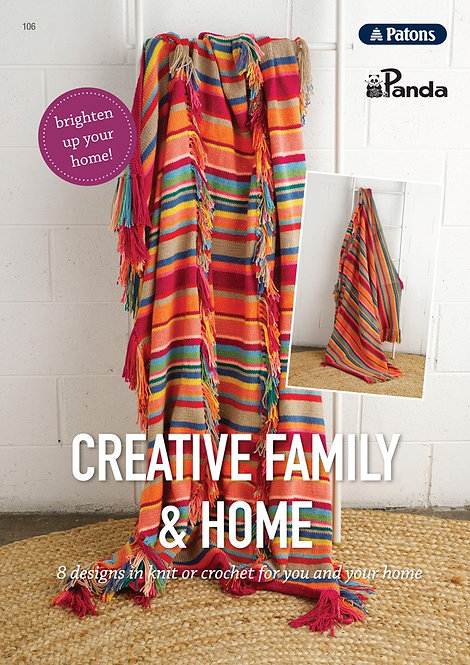 Creative Family & Home pattern book UB0002 - 106