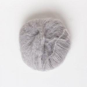 Soft Grey—Baby Suri Silk