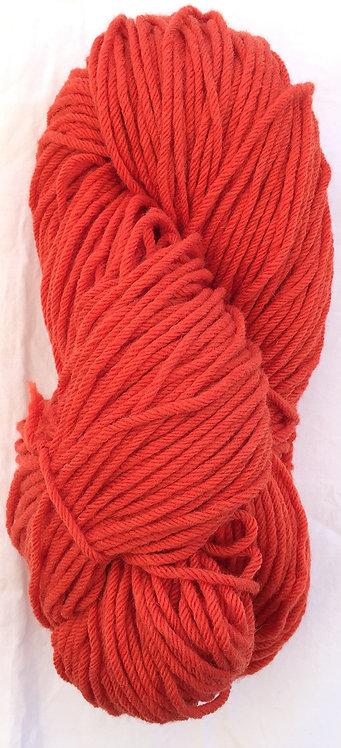 Scarlet Rug Yarn 16 ply—Mollydale Yarns