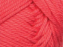 coral—Patons cotton blend 8 ply