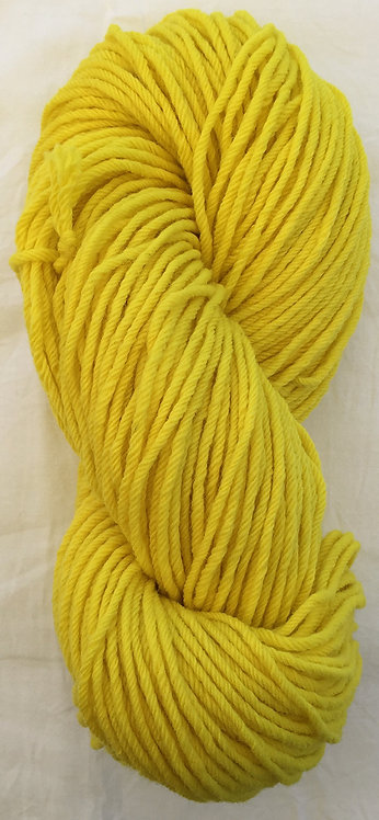 Dark Lemon—Rug Yarn 16 ply