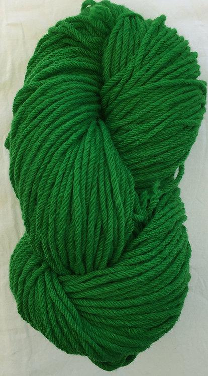Rich Green—Rug Yarn 16 ply