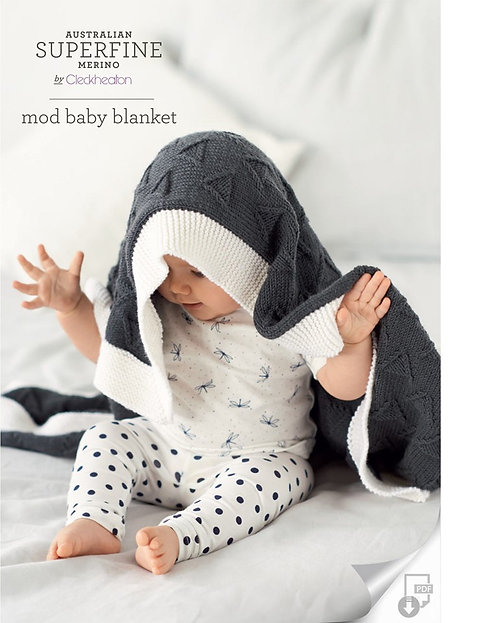 Mod Baby Blanket 417