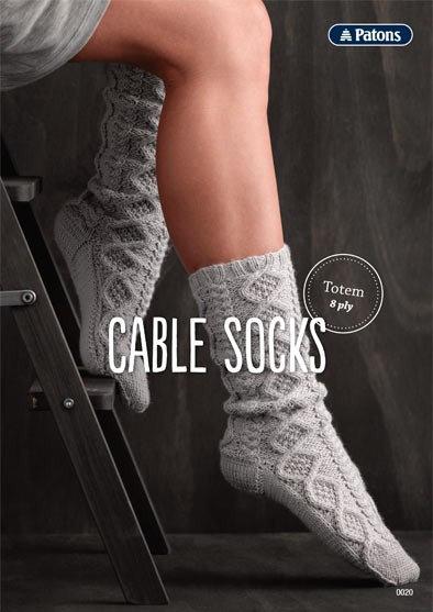 Cable Socks 0020 Leaflet