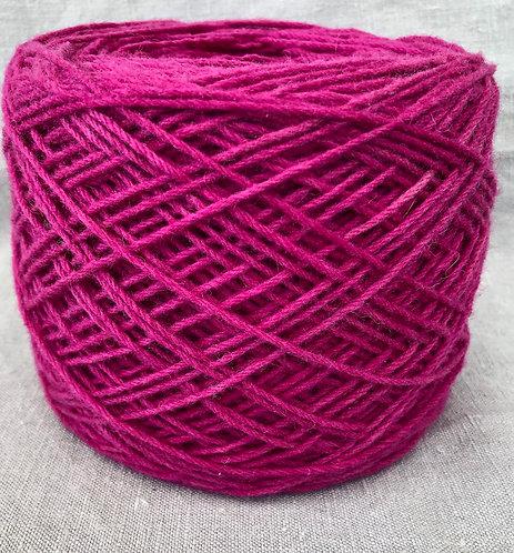 Magenta—8 ply Lambs Wool 50g