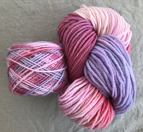 Pink/Purple Multi—Perendale 16 ply