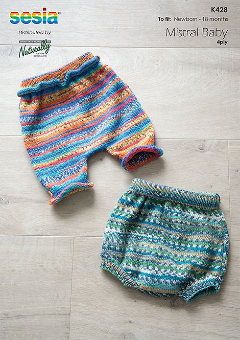 Bloomers and Shorts - Sesia K428