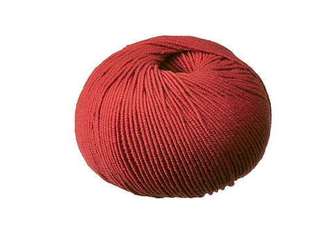 Burnt Red Superfine Merino Cleckheaton 8 ply Australian Merino Wool