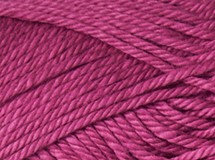 orchid—Patons cotton blend 8 ply