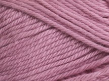 wild rose—Patons cotton blend 8 ply