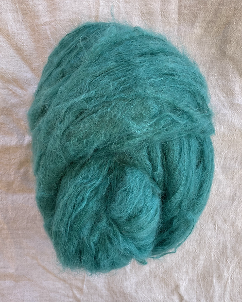 Jade Brushed Mohair 12 ply—Mollydale Yarns