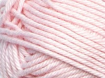pink—Patons cotton blend 8 ply