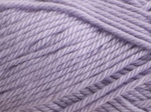 mauve—Patons cotton blend 8 ply