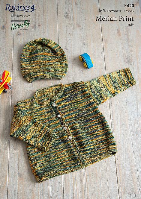 Jacket & Hat - Rosarios 4 K420