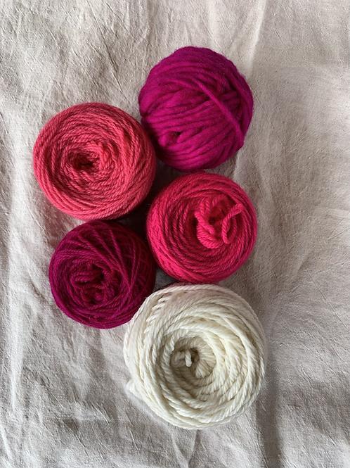 Big Pinks Bundle—Mollydale Yarns