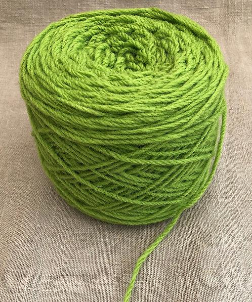 Grass Green Craft Wool 8 ply—Mollydale Yarns