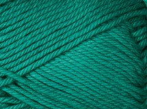 persian green—Patons cotton blend 8 ply