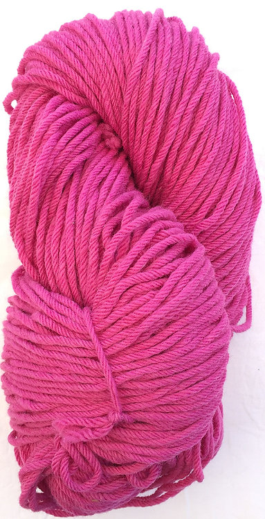 Medium Magenta—Rug Yarn 16 ply