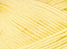 yellow—Patons cotton blend 8 ply
