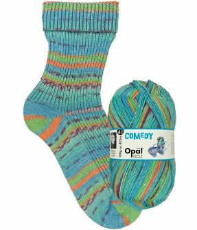 Comedy 9836—Opal 4 ply Sock Yarn