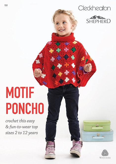 Motif Poncho pattern 151 by Cleckheaton