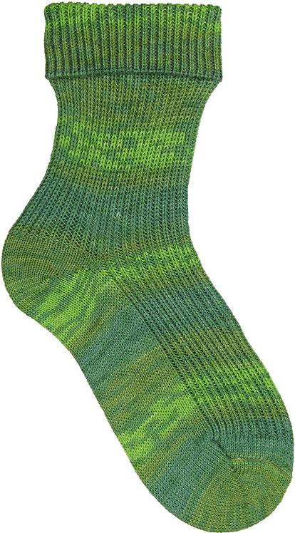 Green Opal Sock Yarn pre-pattern 4 ply