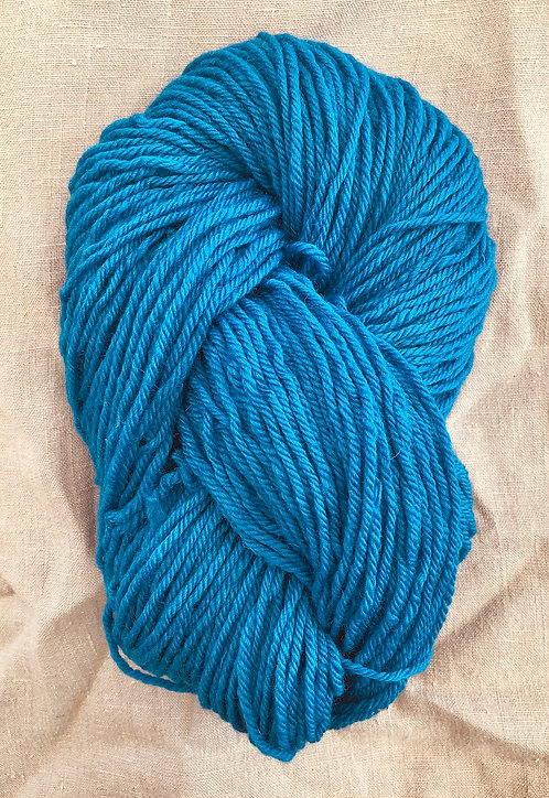Opal Blue Perendale 12 ply—Mollydale Yarns