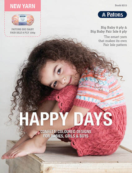 Patons Happy Days Pattern Book TB0008 - 8015
