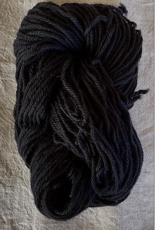 Black New Rug Yarn—Mollydale Yarns