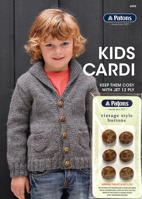 Kids Cardi 6002 by Patons