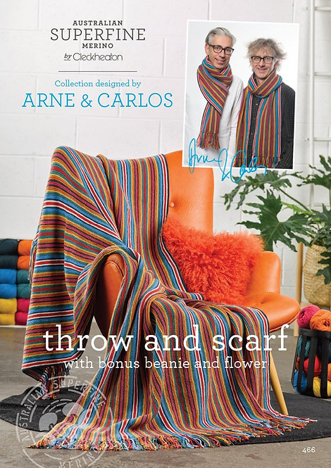 Arne & Carlos Throw and Scarf 466