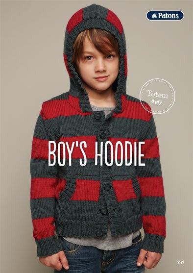 Patons Boy's Hoodie Leaflet