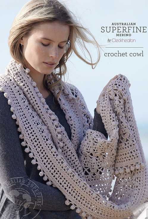 Crochet Cowl by Cleckheaton 427