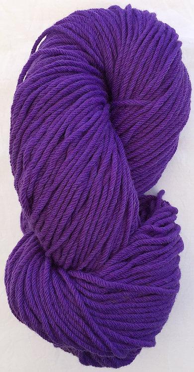 Dark Purple Rug Yarn 16 ply—Mollydale Yarns