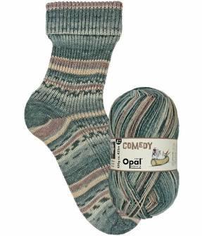 Comedy 9831—Opal 4 ply Sock Yarn