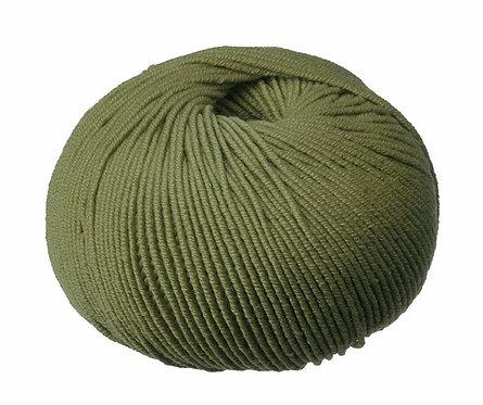Olive Superfine Merino Cleckheaton 8 ply Australian Merino Wool