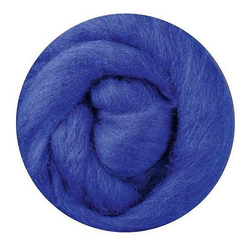 blue—Ashford Merino slivers