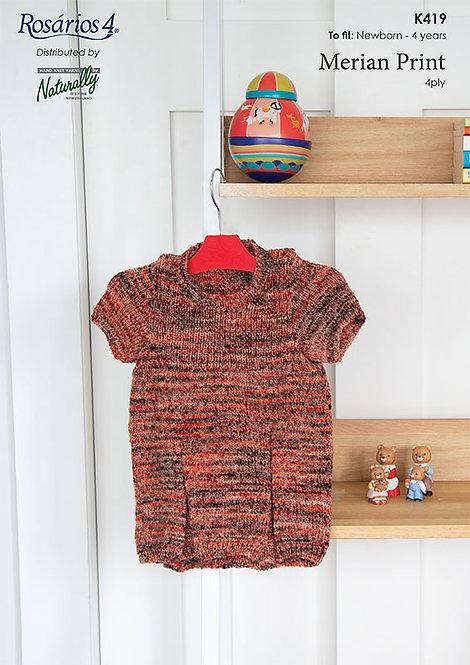 Little Dress - Rosarios 4 K419